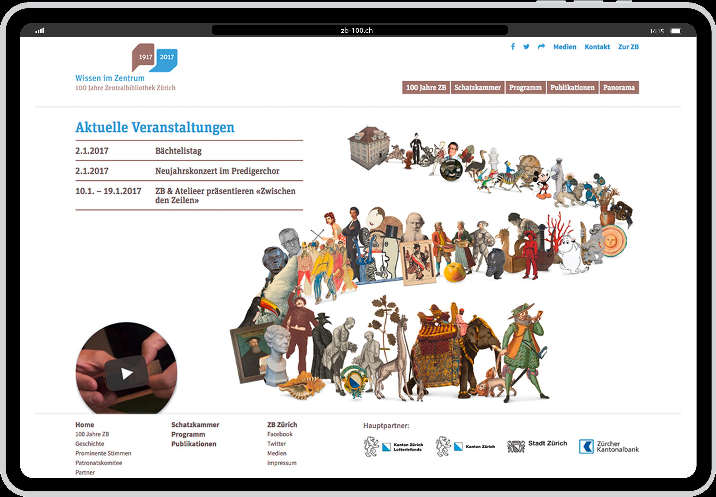 Mit unbekannten Schätzen fürs Schweizer Wissenszentrum begeistern.