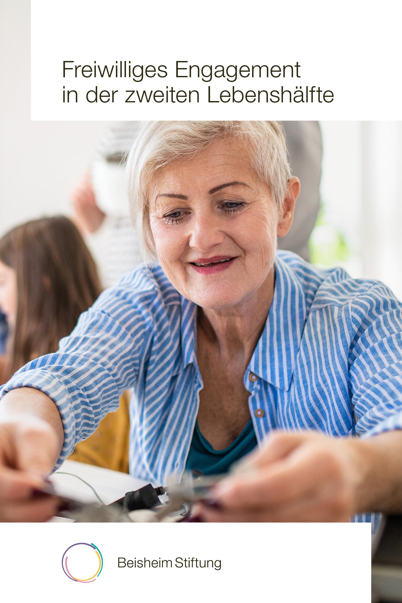 Freiwilliges Engagement in der zweiten Lebenshälfte zum Thema machen.