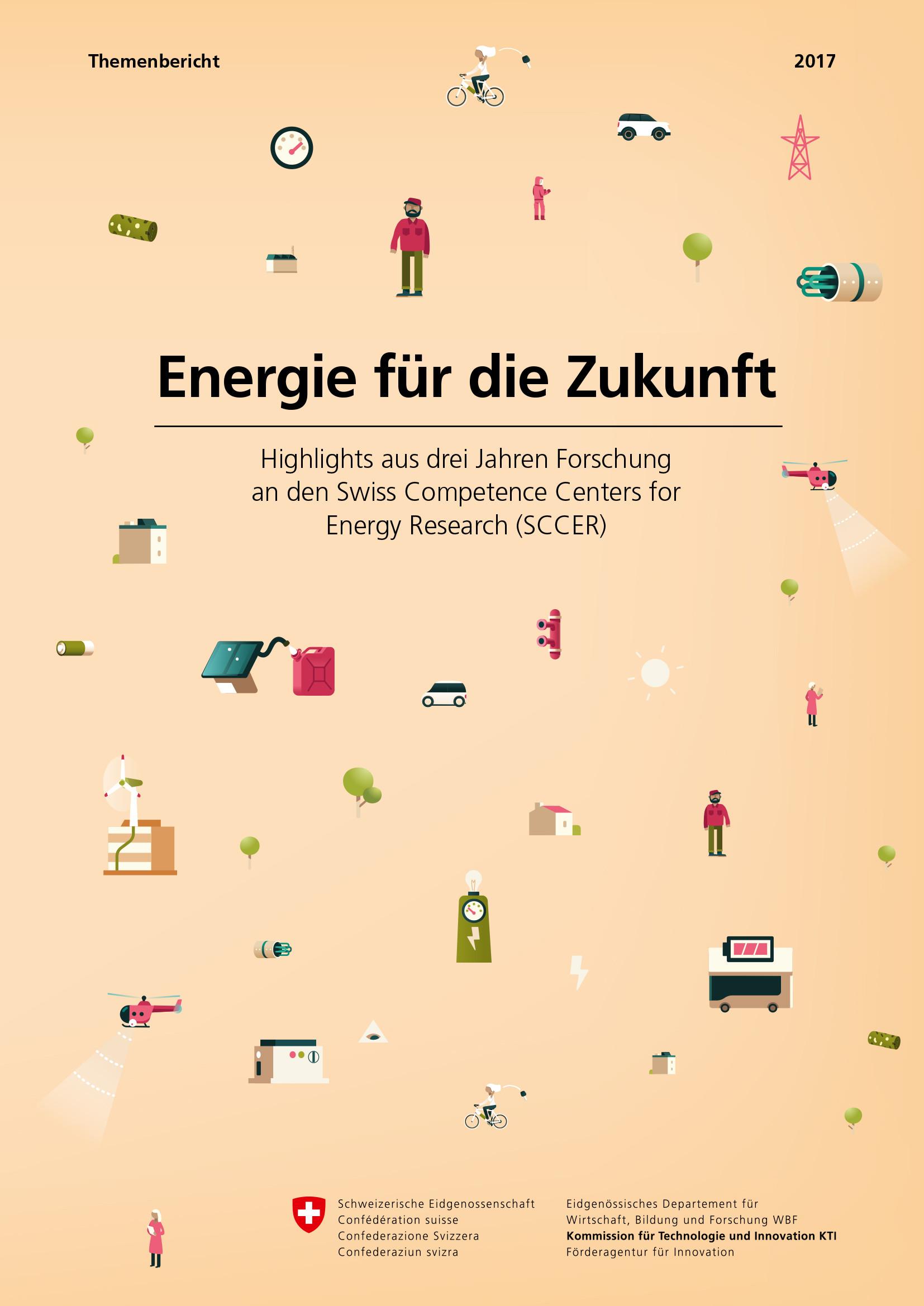 Highlights aus der Forschungslandschaft Energie.