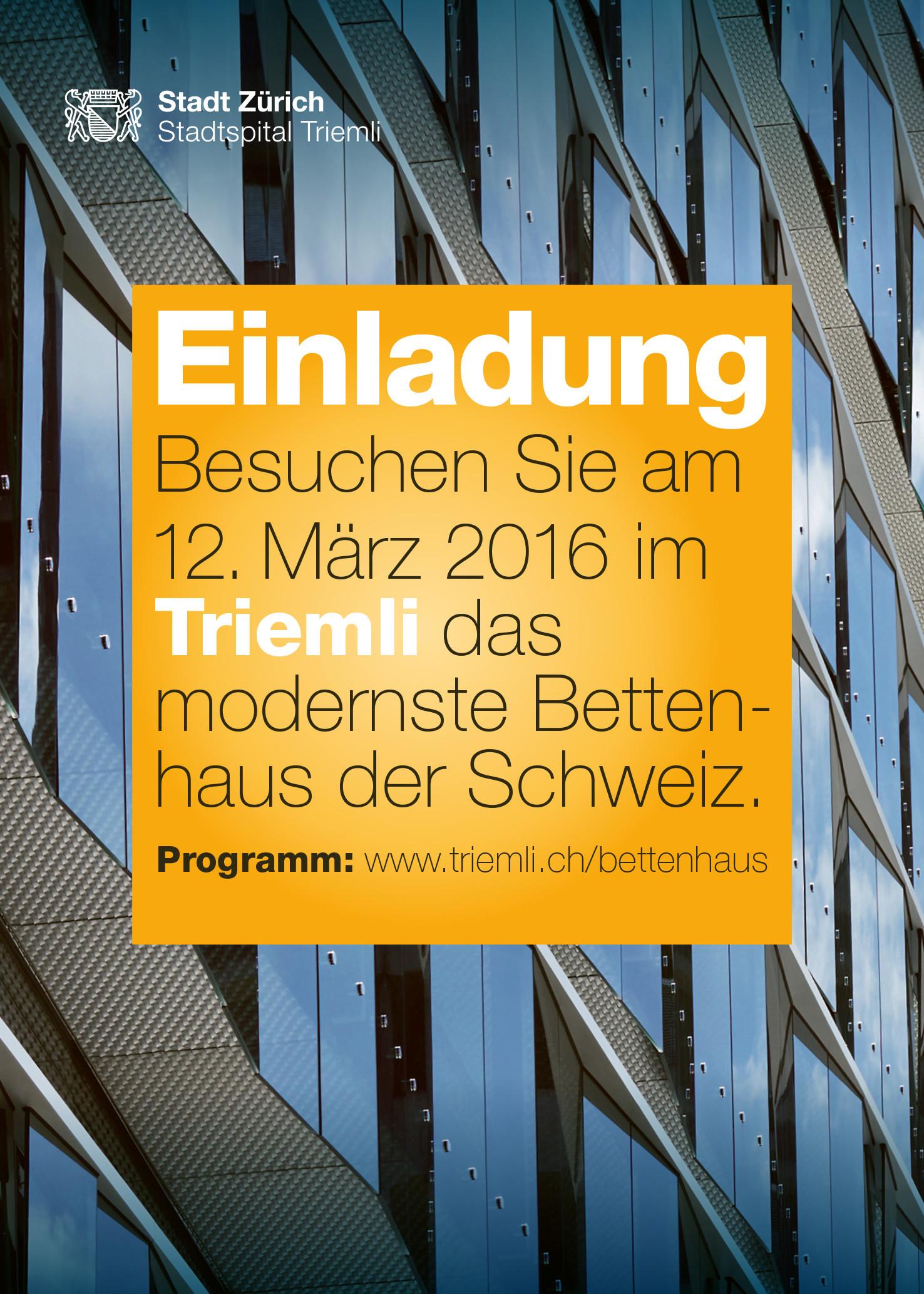 Facettenreich informieren über den grossen Modernisierungsschritt für das Stadtspital.